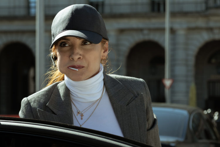 Najwa Nimri es Alicia Sierra en La casa de papel